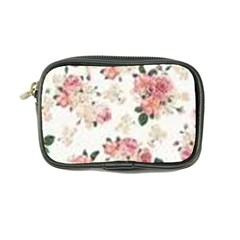 Pink And White Flowers  Coin Purse