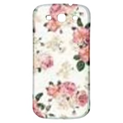 Pink And White Flowers  Samsung Galaxy S3 S Iii Classic Hardshell Back Case by MaryIllustrations