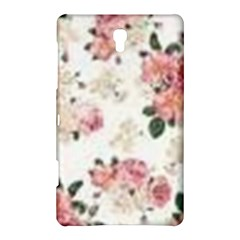 Pink And White Flowers  Samsung Galaxy Tab S (8 4 ) Hardshell Case  by MaryIllustrations