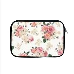 Pink And White Flowers  Apple Macbook Pro 15  Zipper Case by MaryIllustrations
