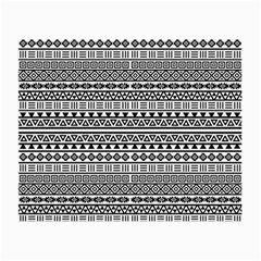 Aztec Influence Pattern Small Glasses Cloth by ValentinaDesign