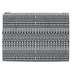 Aztec Influence Pattern Cosmetic Bag (xxl)  by ValentinaDesign