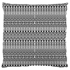 Aztec Influence Pattern Large Flano Cushion Case (two Sides) by ValentinaDesign