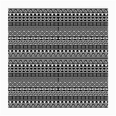 Aztec Influence Pattern Medium Glasses Cloth