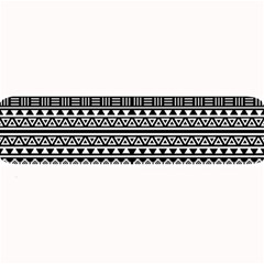 Aztec Influence Pattern Large Bar Mats by ValentinaDesign