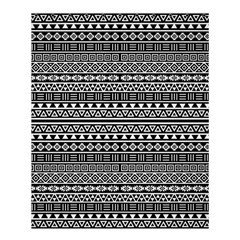 Aztec Influence Pattern Shower Curtain 60  X 72  (medium)  by ValentinaDesign