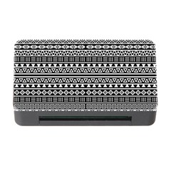 Aztec Influence Pattern Memory Card Reader With Cf by ValentinaDesign