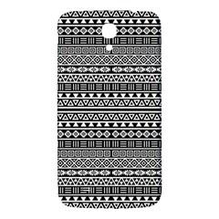 Aztec Influence Pattern Samsung Galaxy Mega I9200 Hardshell Back Case by ValentinaDesign