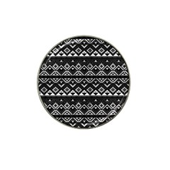 Aztec Influence Pattern Hat Clip Ball Marker (10 Pack) by ValentinaDesign