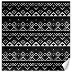 Aztec Influence Pattern Canvas 16  X 16   by ValentinaDesign