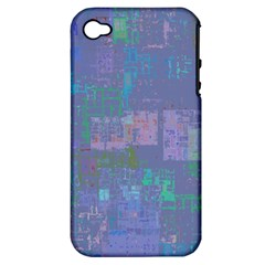 Abstract Art Apple Iphone 4/4s Hardshell Case (pc+silicone) by ValentinaDesign