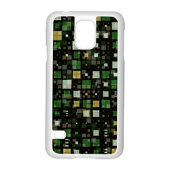 Small Geo Fun C Samsung Galaxy S5 Case (white) by MoreColorsinLife