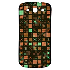 Small Geo Fun A Samsung Galaxy S3 S Iii Classic Hardshell Back Case by MoreColorsinLife