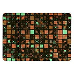 Small Geo Fun A Samsung Galaxy Tab 8 9  P7300 Flip Case by MoreColorsinLife