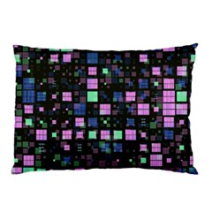 Small Geo Fun B Pillow Case by MoreColorsinLife
