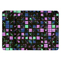 Small Geo Fun B Samsung Galaxy Tab 8 9  P7300 Flip Case by MoreColorsinLife