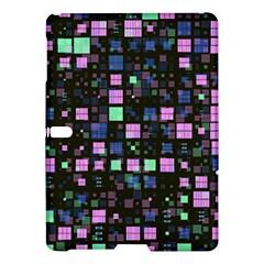 Small Geo Fun B Samsung Galaxy Tab S (10 5 ) Hardshell Case  by MoreColorsinLife