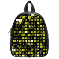 Small Geo Fun F School Bag (small) by MoreColorsinLife