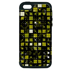 Small Geo Fun F Apple Iphone 5 Hardshell Case (pc+silicone) by MoreColorsinLife