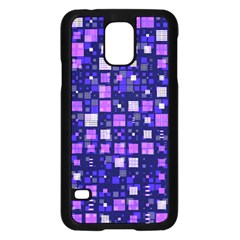 Small Geo Fun E Samsung Galaxy S5 Case (black) by MoreColorsinLife