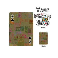 Abstract Art Playing Cards 54 (mini)  by ValentinaDesign