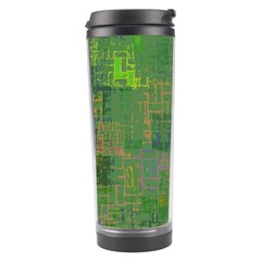 Abstract Art Travel Tumbler by ValentinaDesign