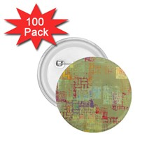 Abstract Art 1 75  Buttons (100 Pack)  by ValentinaDesign