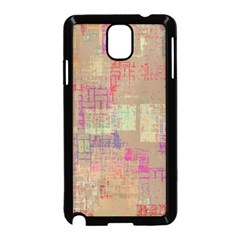 Abstract Art Samsung Galaxy Note 3 Neo Hardshell Case (black) by ValentinaDesign