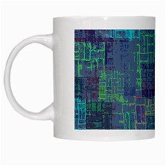 Abstract Art White Mugs by ValentinaDesign