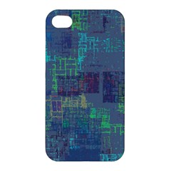 Abstract Art Apple Iphone 4/4s Premium Hardshell Case by ValentinaDesign