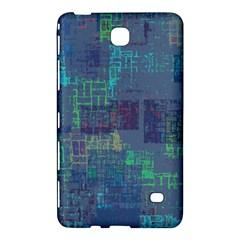 Abstract Art Samsung Galaxy Tab 4 (7 ) Hardshell Case  by ValentinaDesign