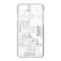 Abstract Art Apple Iphone 7 Seamless Case (white) by ValentinaDesign