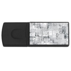 Abstract Art Rectangular Usb Flash Drive by ValentinaDesign