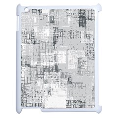 Abstract Art Apple Ipad 2 Case (white) by ValentinaDesign