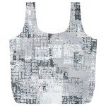 Abstract art Full Print Recycle Bags (L)  Back