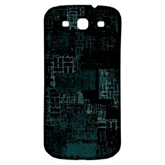 Abstract Art Samsung Galaxy S3 S Iii Classic Hardshell Back Case by ValentinaDesign