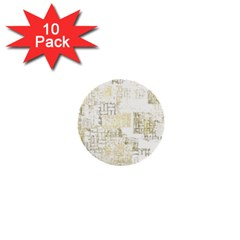 Abstract Art 1  Mini Buttons (10 Pack)  by ValentinaDesign