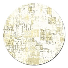Abstract Art Magnet 5  (round) by ValentinaDesign
