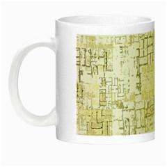 Abstract Art Night Luminous Mugs by ValentinaDesign