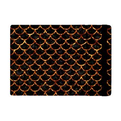 Scales1 Black Marble & Copper Foil Apple Ipad Mini Flip Case by trendistuff