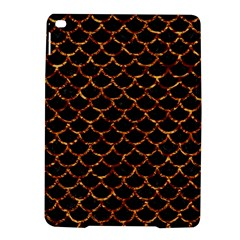 Scales1 Black Marble & Copper Foil Ipad Air 2 Hardshell Cases by trendistuff