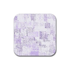 Abstract Art Rubber Coaster (square)  by ValentinaDesign