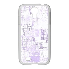 Abstract Art Samsung Galaxy S4 I9500/ I9505 Case (white) by ValentinaDesign