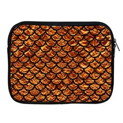 Scales1 Black Marble & Copper Foil (r) Apple Ipad 2/3/4 Zipper Cases by trendistuff