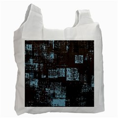 Abstract Art Recycle Bag (two Side)  by ValentinaDesign