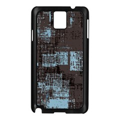 Abstract Art Samsung Galaxy Note 3 N9005 Case (black) by ValentinaDesign