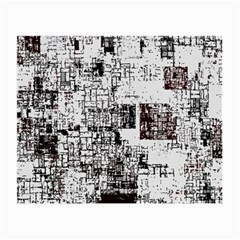 Abstract Art Small Glasses Cloth (2 Side) by ValentinaDesign