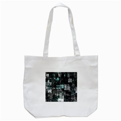 Abstract Art Tote Bag (white) by ValentinaDesign