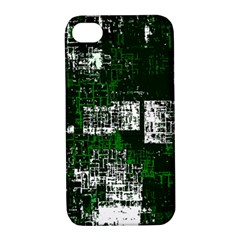 Abstract Art Apple Iphone 4/4s Hardshell Case With Stand by ValentinaDesign