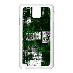 Abstract Art Samsung Galaxy Note 3 N9005 Case (white) by ValentinaDesign
